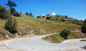 Approach to Lick Observatory.