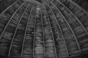 Wooden dome, Knightridge Observatory.
