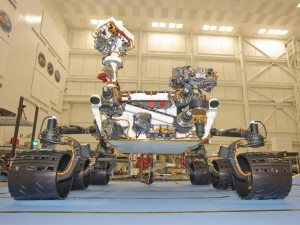 'Curiosity,' aka the Mars Science Laboratory Rover.