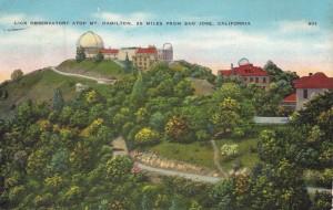 Lick Observatory, Mt. Hamilton, California.
