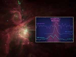 Oxygen in Orion