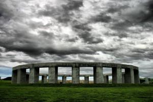 Stonehenge Aotearoa Stormy Sky