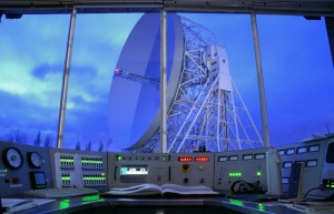 Control Room of the Lovell Telescope