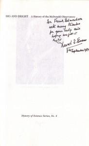 Signature, David S. Evans