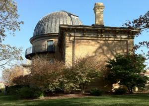 West Facade, Washburn Observatory