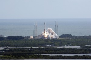 MSL Launches to the Red Planet