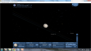 Screen shot, Eyes on the Solar System, Jupiter and its moons