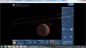 Screen shot, Mars, anaglyph mode, Eyes on the Solar System