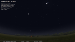 Stellarium screen shot