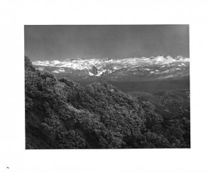 Yosemite_Valley_as_seen_from_Mount_Hamilton, photograph, black and white