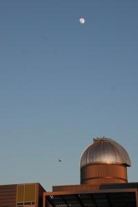 CSU-Stanislaus Observatory at Sunset