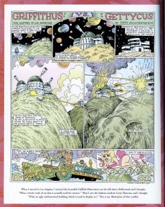 Griffithus vs. Gettyus, Tony Millionaire Comic.