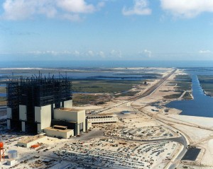 VAB under construction, c. 1965. Image credit: NASA (via Stayne Hoff)
