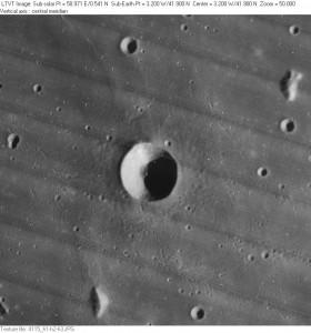 Lunar crater Piazzi Smyth