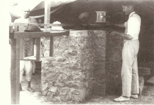 John Evershed and Assistant, Kodaikanal Solar Observatory. Image courtesy IIA Archives.